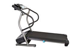 απομονωμένο treadmill Στοκ Φωτογραφίες
