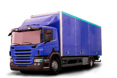 απομονωμένο truck τρακτέρ Στοκ εικόνα με δικαίωμα ελεύθερης χρήσης