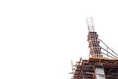 Απομονώστε την κατασκευή Στοκ φωτογραφία με δικαίωμα ελεύθερης χρήσης