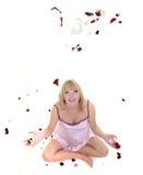 απομονώστε τη έγκυο γυν&alph στοκ εικόνες
