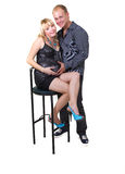 απομονώστε τη έγκυο γυν&alph στοκ εικόνα με δικαίωμα ελεύθερης χρήσης