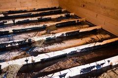 Απομόνωση πατωμάτων Στοκ Φωτογραφία