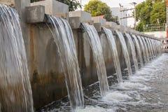 Αποξήρανση νερού στοκ εικόνες