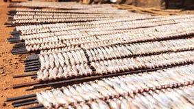 Αποξηραμένα ψάρια στη Νοτιοανατολική Ασία στοκ φωτογραφία με δικαίωμα ελεύθερης χρήσης