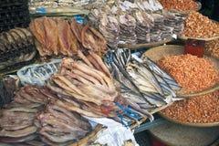 Αποξηραμένα ψάρια Στοκ Εικόνες