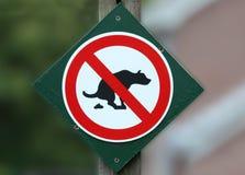 απορρίματα σκυλιών Στοκ Φωτογραφία