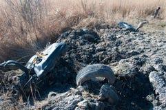 Απορρίματα στο δάσος Στοκ φωτογραφίες με δικαίωμα ελεύθερης χρήσης