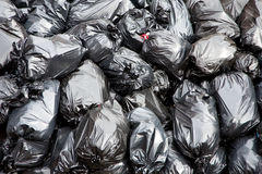 απορρίματα τσαντών Στοκ Φωτογραφίες