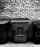 απορρίματα δοχείων Στοκ φωτογραφίες με δικαίωμα ελεύθερης χρήσης