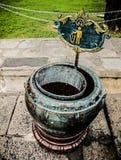 Απορρίμματα στον κήπο Στοκ φωτογραφία με δικαίωμα ελεύθερης χρήσης