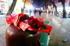 Απορριμμένα τριαντάφυλλα Στοκ φωτογραφία με δικαίωμα ελεύθερης χρήσης