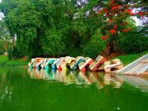 Απορριμμένες βάρκες πενταλιών στοκ φωτογραφίες