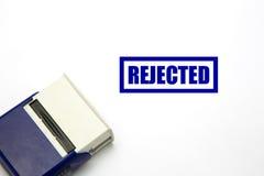 Απορριφθε'ν γραμματόσημο Στοκ Εικόνα
