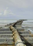 Απορροφήστε το σωλήνα άμμου Στοκ φωτογραφία με δικαίωμα ελεύθερης χρήσης