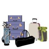 Αποσκευές αερολιμένων Στοκ φωτογραφία με δικαίωμα ελεύθερης χρήσης