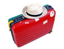 αποσκευές διακοπών Στοκ Εικόνες