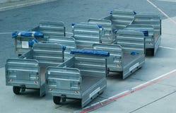 αποσκευές κάρρων αερολ Στοκ φωτογραφία με δικαίωμα ελεύθερης χρήσης