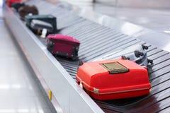 Αποσκευές στη διαδρομή Στοκ Εικόνες