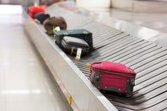 Αποσκευές στη διαδρομή Στοκ φωτογραφίες με δικαίωμα ελεύθερης χρήσης