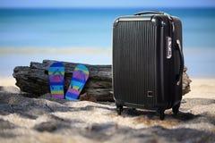 Αποσκευές ταξιδιού Στοκ Εικόνες