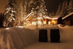 Αποσκευές ταξιδιού Στοκ εικόνες με δικαίωμα ελεύθερης χρήσης
