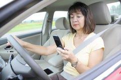 αποσπασμένη οδήγηση στοκ φωτογραφίες