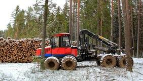 Αποστολέας επί του τόπου χειμερινών αναγραφών Στοκ Εικόνες