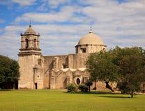αποστολή SAN Τέξας Juan antonio στοκ φωτογραφία