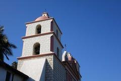 Αποστολή Santa Barbara, Καλιφόρνια Στοκ Εικόνες