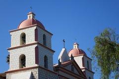 Αποστολή Santa Barbara, Καλιφόρνια Στοκ Εικόνα