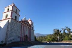Αποστολή Santa Barbara, Καλιφόρνια Στοκ εικόνα με δικαίωμα ελεύθερης χρήσης