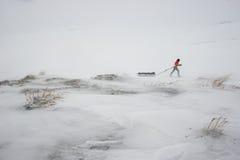 Αποστολή AMundsen στοκ φωτογραφίες με δικαίωμα ελεύθερης χρήσης