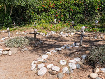 Αποστολή Carmel, νεκροταφείο Στοκ Φωτογραφίες