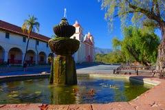 Αποστολή Santa Barbara - Καλιφόρνια Στοκ Φωτογραφίες