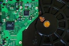 Αποσυντεθειμένη κίνηση σκληρών δίσκων υπολογιστών HDD στοκ φωτογραφία με δικαίωμα ελεύθερης χρήσης