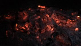 Αποσυντιθειμένος άνθρακες Στοκ Φωτογραφία