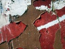 αποσυντιθειμένος τοίχος Στοκ Εικόνα