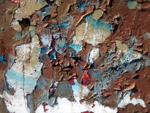 αποσυντιθειμένος τοίχος Στοκ φωτογραφία με δικαίωμα ελεύθερης χρήσης