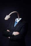 Αποσυνδεμένος επιχειρηματίας στοκ φωτογραφία