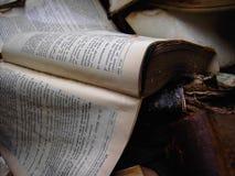 αποσύνθεση βιβλίων Στοκ εικόνες με δικαίωμα ελεύθερης χρήσης