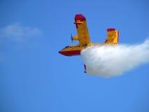 αποταμίευση ζωής αεροσκαφών Στοκ εικόνες με δικαίωμα ελεύθερης χρήσης