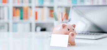 Αποταμίευση, τραπεζικές εργασίες και επενδύσεις Στοκ Εικόνα