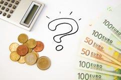 αποταμίευση χρημάτων έννοι& Στοκ Φωτογραφίες
