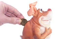 αποταμίευση χρημάτων Στοκ εικόνες με δικαίωμα ελεύθερης χρήσης