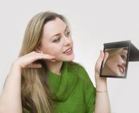 αποτελέστε τον καθρέφτη Στοκ εικόνες με δικαίωμα ελεύθερης χρήσης