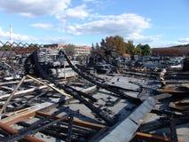 Αποτελέσματα της πυρκαγιάς Στοκ εικόνα με δικαίωμα ελεύθερης χρήσης