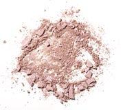 Αποτελέστε τη συντριμμένη σκόνη στοκ εικόνα