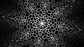 Αποτυπώστε το υπόβαθρο βρόχων mandala σε ανάγλυφο απεικόνιση αποθεμάτων