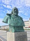Αποτυχία του συγγραφέα Hoffmann von Fallersleben στο νησί Heligoland Στοκ εικόνα με δικαίωμα ελεύθερης χρήσης
