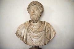 Αποτυχία του Marcus Aurelius, στοά Uffizi, Φλωρεντία Στοκ φωτογραφία με δικαίωμα ελεύθερης χρήσης